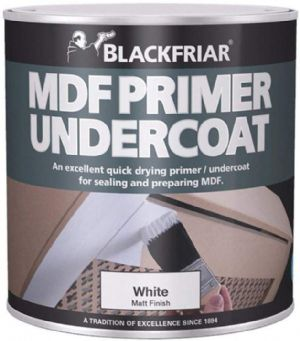 Blackfriar MDF Acrylic Primer Undercoat - 250ml